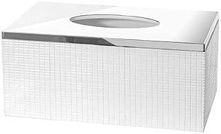Creative Scents Estella Rectangular Tissue Box Cover - Decorative Kitchen and Bath Tissues Holder - Tissue Refill Dispense...