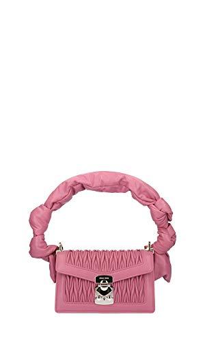 Miu Miu Luxury Fashion Damen 5BD083VMOON88F0638 Rosa Leder Schultertasche | Frühling Sommer 20