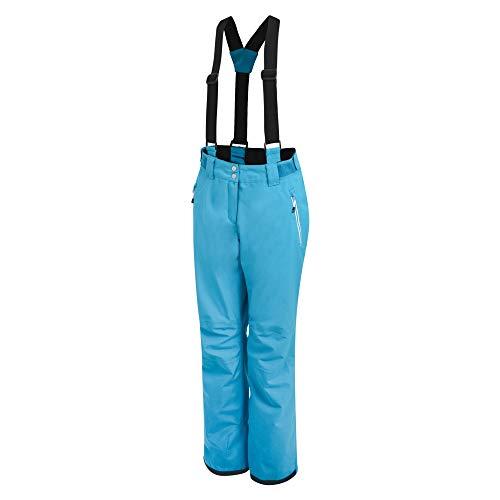 Dare 2b vrouwen Effused broek waterdicht & ademend gelede comfort knie ski & snowboard salopette broek met hoge rug taille en geïntegreerde sneeuw Gaiters