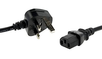 Storm&Lighthouse Kettle Lead Computer Power Cable (0.5m)