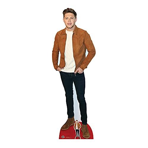 Star Cutouts Ltd Niall Horan CS718 - Poste para Chaqueta (1 dirección, cartón, tamaño Real, Altura 184 cm, para Aficionados, Amigos y Familia, 3 x 61 x 184 cm)