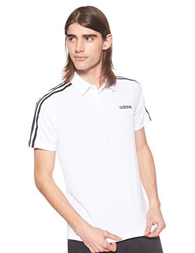adidas Design2Move 3S Polo, Uomo, Bianco/Nero, M