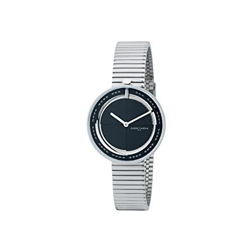 Pierre Cardin Marais Mirror CMA.0008 - Reloj de pulsera para mujer (cuarzo, acero inoxidable, con correa de acero inoxidable)
