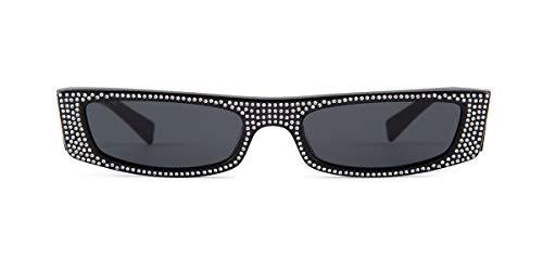 Alain Mikli EDWIDGE Jeweled 0A05039B X Alexandre VAUTHIER Noir MIKLI/Grey 54/18/140 Women Sunglasses