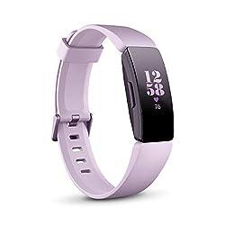 Fitbit InspireHR フィットネストラッカー Lilac L/Sサイズ [日本正規品] FB413LVLV-FRCJK