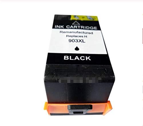 ZIJ En Forma Compatible con los Cartuchos de Tinta for HP 903XL 903 907 907XL Ajuste for HP903XL HP907XL Ajuste for OfficeJet 6960 6961 6963 6950 6964 6965 6970 6975 Impresora (Color : 1x Black)