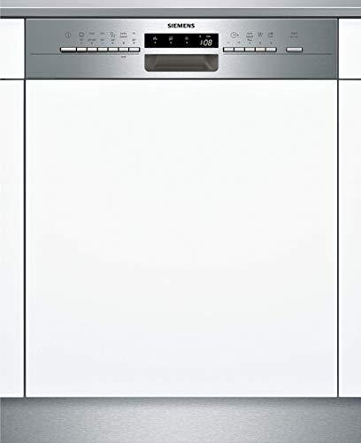 Siemens SN536S00LE iQ300 teilintegrierter Geschirrspüler / E / 94 kWh / 13 MGD / varioSpeed Plus / Glas 40° Programm / varioSchublade / varioFlex-Korbsystem