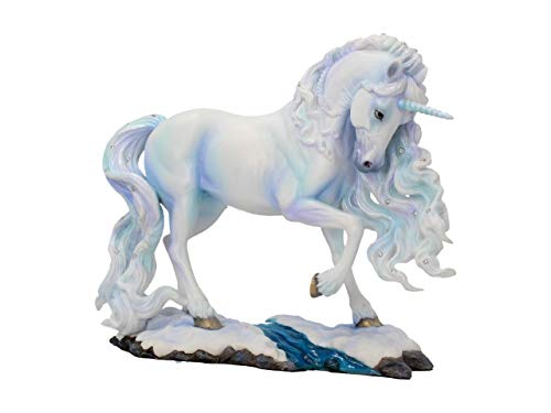 Nemesis Now Pure Spirit Figur aus Kunstharz, 30 cm, Einheitsgröße, Weiß