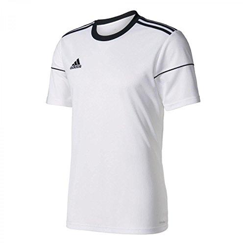 adidas Squadra 17, Maglietta da Calcio Uomo, Bianco (White/Black), Medium