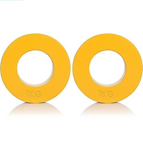 2 PCS Micropeso Fraccionales Diseñadas para Barras Olímpicas para Entrenamiento de Fuerza y Desarrollo Muscular,0.25kg