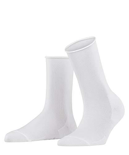 FALKE Damen Socken Active Breeze - Lyocellmischung, 1 Paar, Weiß (White 2009), Größe: 35-38