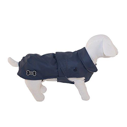FUSSDOG Etanche Classic Blue Dog Accessoires Capottini Et Vêtements