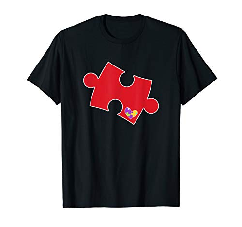 Autism Puzzle Piece - Autismus-Bewusstseins-Outfit T-Shirt