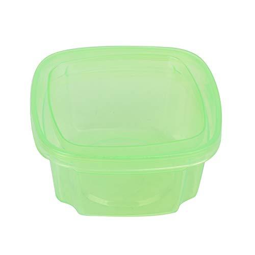 Caja De Bocadillos Para Bebés, Recipiente De Comida Para Bebés Resistencia A Altas Temperaturas Caja De Bocadillos Fácil De Abrir Fácil De Almacenar Resistencia Al Impacto Para El Hogar(verde)