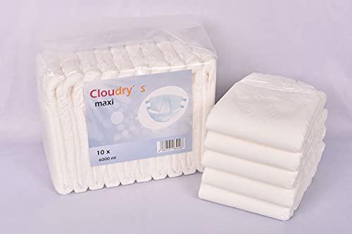 Cloudrys Maxi Windeln mit Folie für Erwachsene Gr L