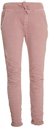 Basic.de Cotton Stretch-Hose im Jogging-Pant Style Rosa XL