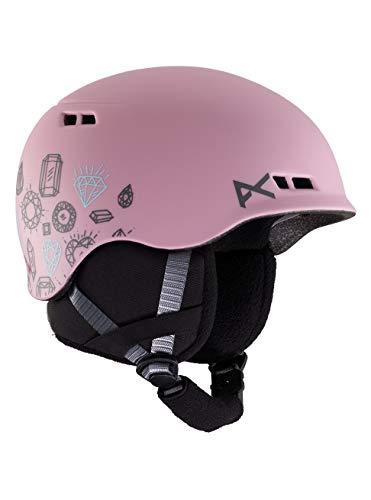 Anon Mädchen Burner Snowboard Helm, Bling Pink, LXL