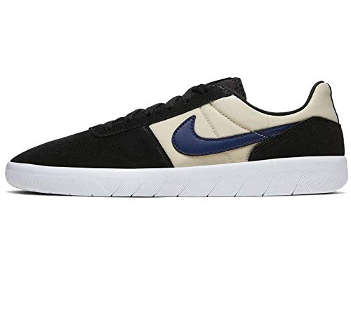 Nike Sb Team Classic Hombres Zapatos de skate Ah3360-015, negro (Negro/Midnight Navy-Fossil-White), 44 EU