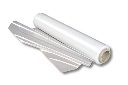 1 Jumborolle 2 x100 m, 30µ Folie Abdeckfolie PE-Folie Malerfolie Kunststofffolie Polyethylenfolie Schutzplane Schutzfolie Bauplane Allzweckfolie dünne Folie reißfeste Folie durchsitige LDPE Folie