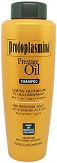 Protoplasmina Prestige Oil Bagno/Shampoo 1000ml Nutriente Rigenerante e Illuminante Anti-Age con Olio di Argan e Olio di C...