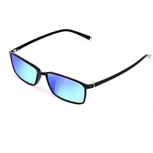 Colorblind-Gläser for Männer und Frauen All Farbenblindheit Gläser, Fullframe Rot-Grün-Blindheit, Farbe schwach Brille, rahmenartigen Fahr, Druck und Färben, Kunst, chemisches Farbsehen, Farbensehen