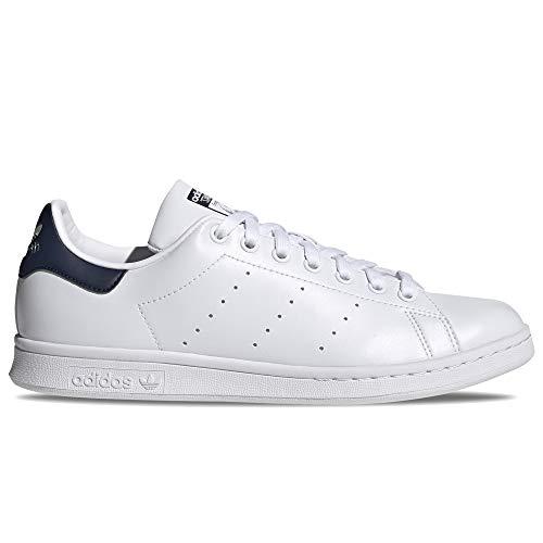 adidas Stan Smith, Zapatillas Deportivas Hombre, FTWR White FTWR White Collegiate Navy, 44 2/3 EU