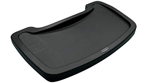 Price comparison product image Rubbermaid Commercial Products Food Tray for Sturdy High-Chair,  Black (FG781588BLA)
