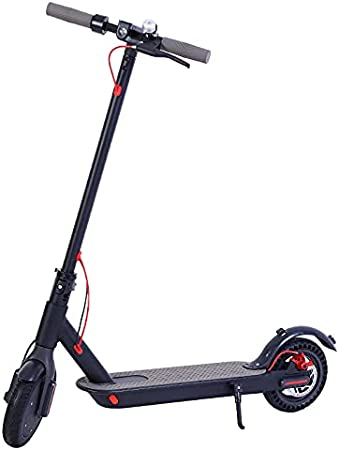 GAOwi 8.5 Pulgadas Scooter eléctrico Adulto Mini Bolsillo de aleación de aleación de Aluminio Plegable de dosi Ruedas con un Rango de 25-30 km (Peso 12.5kg),Negro