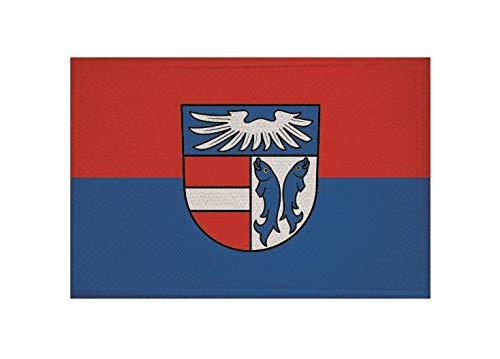 U24 Aufnäher Kenzingen Fahne Flagge Aufbügler Patch 9 x 6 cm