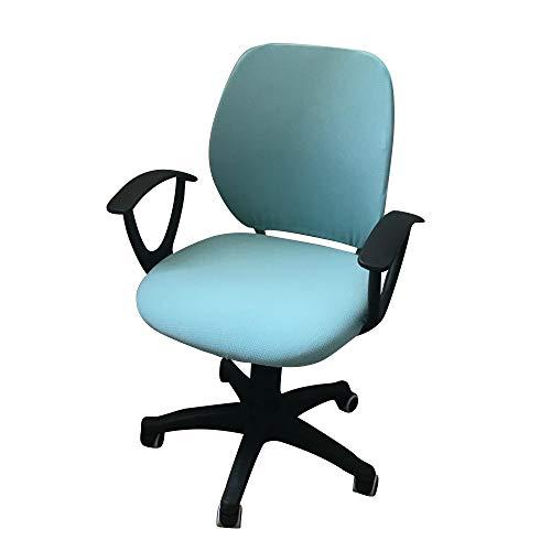 jianyana Computer Office Stuhlbezug Schützende und Dehnbare Universal-Stuhlbezüge Drehbezug Schonbezug