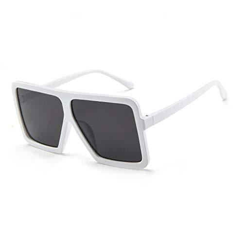 Retro Vintage Sonnenbrille im angesagte Browline-Style mit markantem Halbrahmen Sonnenbrille,Brillen Trends