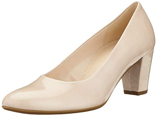 Gabor Shoes Damen Comfort Fashion Pumps, Beige (Sand 82), 42 EU
