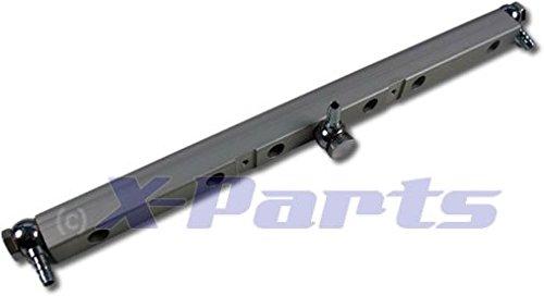 Einspritzleiste VR6 Turbo Kompressor Silber High Flow