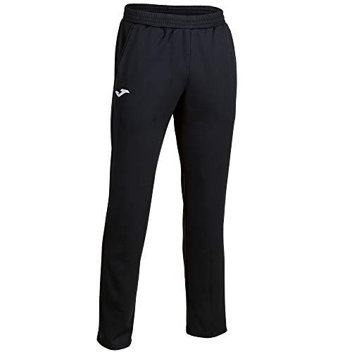 Joma Cleo II Pantalon Largo Deportivo, Hombres, Negro, S