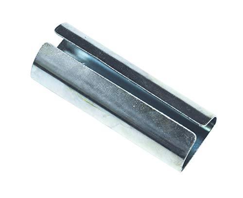 Gardinia Verbinder für Gardinenstangen mit Innenlauf I Ø 20 mm verzinkt