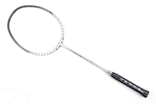 Apacs Nano Fusion 722Speed Weiß glänzend Badminton Schläger (6U)
