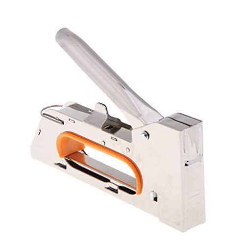 Grapadora Metalica para Grapas 1008F Profesional Pistola de Grapa para Marco de...