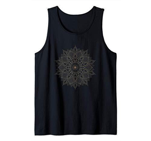 Mandala Yoga Meditación Entrenamiento para el yo interior Camiseta sin Mangas