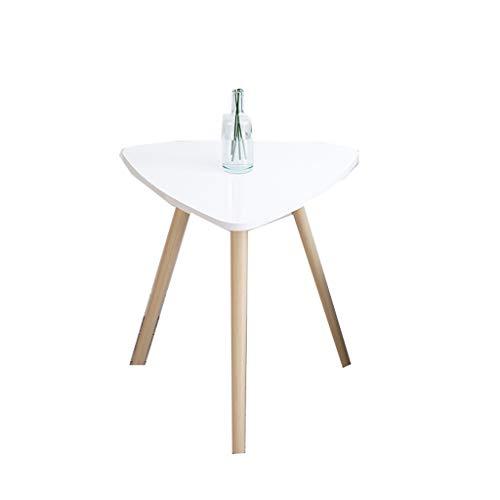 LSX - salontafel kleine koffietafel, vrije tijd tafel houten Scandinavische stijl kleine ronde salontafel nachtkastje bank hoektafel moderne minimalistische (2 kleuren, 3 maten). bijzettafel