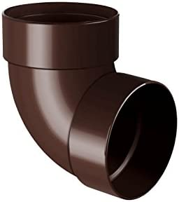 RainWay90 Sistema de canalones para lluvia pl/ástico PVC, 130 mm