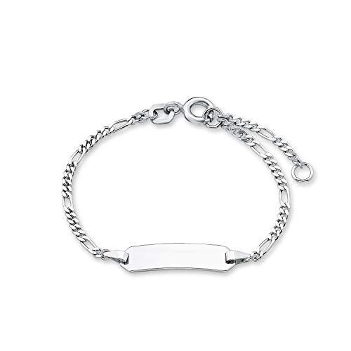 amor Armband für Kinder Unisex 12+2 cm längenverstellbar gravierbar 925 Sterling Silber