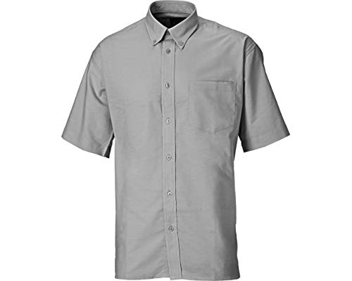 Dickies SH64250 SV 16+ Oxford Chemise manches courtes Taille 42 Silbergris