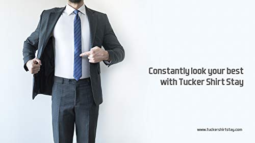 TUCKER UNIQUE PATENT Have created the world's best SHIRT-STAY for Men /& Women