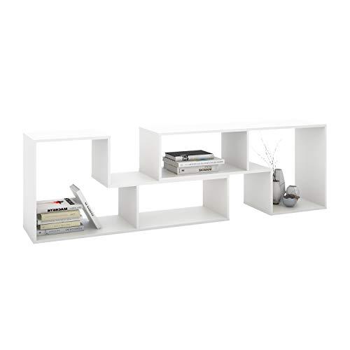 DEVAISE 2-Piece Versatile TV Stand, Universal Entertainment Center for 45-65 inch, Storage Console...