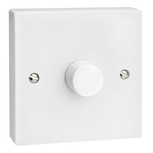 LED Dimmer Switch 1 Gang Single Way 400w Trailing Edge...