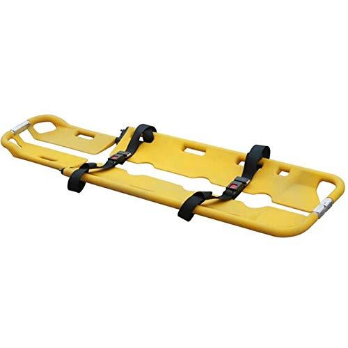 XIONGGG Kunststoff Scoop Tragbahre, EMT Medical Leicht Bewegliche Faltbare Einstellbare Aluminium-Rückenbrett Spineboard-Keilrahmen