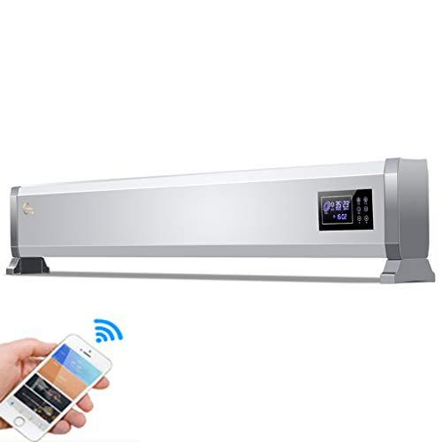 GOAIJFEN Convectoren, elektrische plint, convectoren met verstelbare thermostaat, Silent-3 temperatuurinstellingen met lcd-touch-display