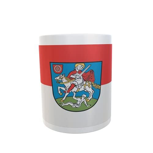 U24 Tasse Kaffeebecher Mug Cup Flagge Bingen