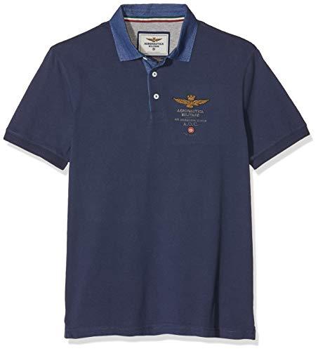 Aeronautica Militare M.C. Camisa de Polo, BLU (BLU Aperto 08