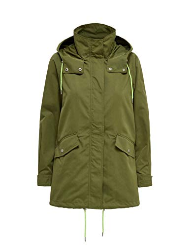 Only Parka Awesome Verde para Mujer
